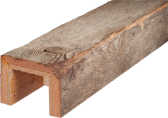 Reclaimed Barn Wood Box Beams And Beam Wraps By Barnwood